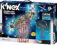 K'NEX Sawblade Thrill Ride Learning Game Ottawa, K2K 1X7