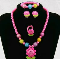pink and green beaded necklace Redmond, 98052