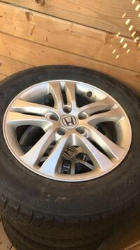 Honda rims and tires Toronto, M8Z 4P1