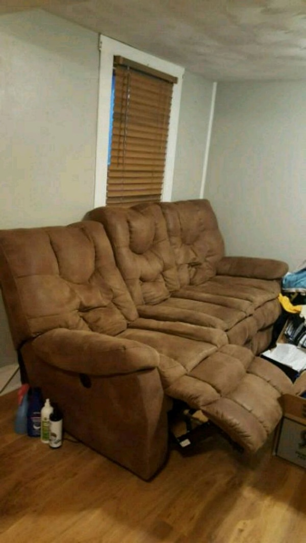Used Ashley Furniture Power Reclining Sofa For Sale In Waynesboro