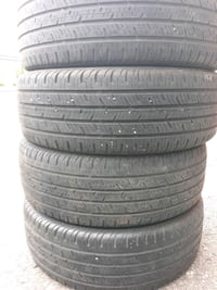 SET OF CONTINENTAL TIRES SIZE 215/55/18