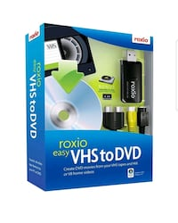 Roxio Easy VHS To DVD London, N6P 1P6