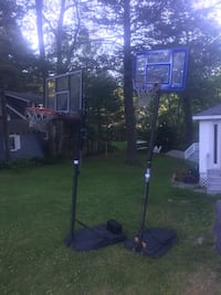 Yard Sale Leftovers -FREE (bunk bed, chairs, b-ball hoops and weight benches Falmouth, 04105