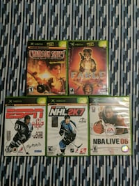 XBOX Games (assorted)