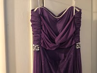 Purple sparkly prom dress West Valley City, 84120