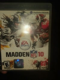 Sony PS3 Madden NFL 13 game case Muskegon, 49442