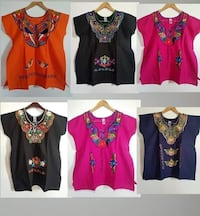 Embroidered Mexican blouses, all hand made Washington, 20024