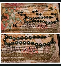 Vintage costume necklaces jewelry LOT Vancouver, 98682