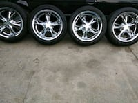20 inch rims with New tires $700
