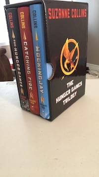 The Hunger Games Trilogy (hardcover) Keswick, L4P 4G2