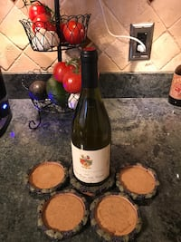 Coaster set with wine bottle coaster Lutherville Timonium, 21093