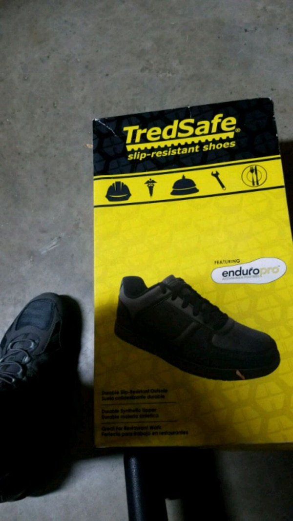 fe150770e0a1 Used black and white adidas low-top sneaker with box for sale in Forney -  letgo