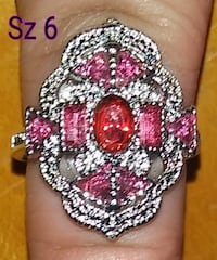 All sterling silver Art Deco Rings are marked down to only $25. Org-$45. Glen Burnie