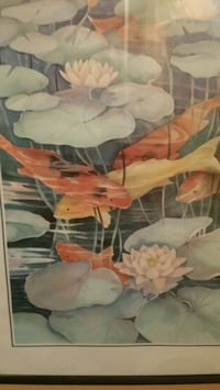 Picture and frame of koi fish Port Charlotte, 33948