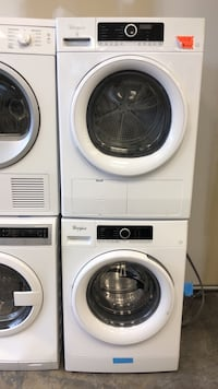 New whirlpool washer&dryer portable set