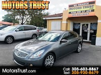 2013 INFINITI G37 Sedan 4dr Journey RWD miami, 33147