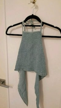 NEW WITH TAGS denim like top Montreal, H4G 1H7