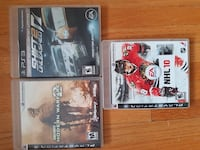 three assorted PS3 game cases Calgary, T3E 3G5