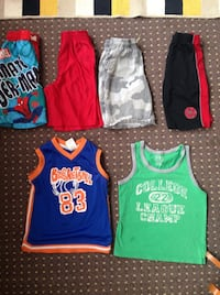 children's assorted color shorts and tank tops Moose Jaw, S6H 0M2
