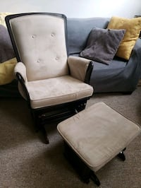 Rocking Chair and Footstool Set