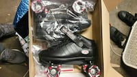 Riedell men's speed skates size 12 143 mi