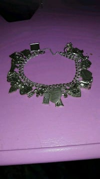 James Avery Bracelet w/24 Charms 9.25 italy 1381 mi