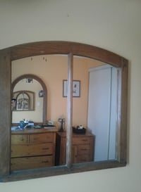 In BARRIE!! Refinished antique frame with mirror