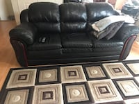 2 piece leather sofa  Mississauga, L5N