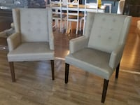 2 accent chairs Calgary, T3P 0B1