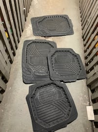 Winter car mat set of four changed to colour ones Toronto, M3C 2G2