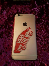 silver iPhone 6 with case Bakersfield, 93313