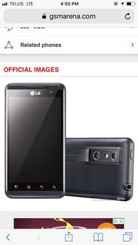 black LG android smartphone screenshot Surrey, V3R 3B2