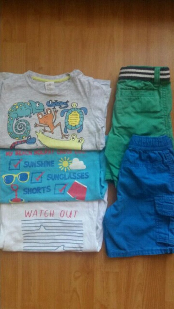 Summer clothes for boy 2-3years