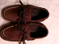 Youth Boys Brown Boat Shoes Sperry's Size 10