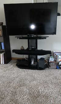 """50""""TV and stand"""