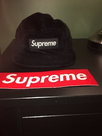 Supreme camp cap black Rocky View No. 44, T3Z 1H3