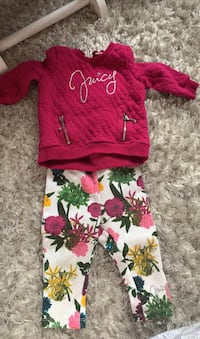 Juicy Couture 6-9 month size outfit  Monroe Township, 08831