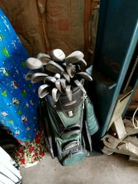 Golf clubs w bag