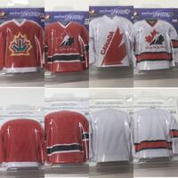 IN ORIGINAL PACKAGING Team Canada Mini Jerseys Calgary, T3G 1J6