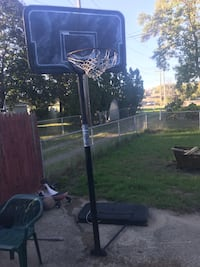 black and gray basketball hoop South Bend, 46614