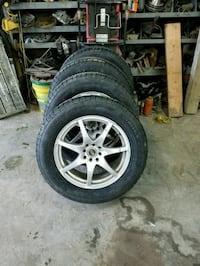 New 215 65R17 tires on wheels