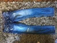 blue denim straight cut jeans 61 km