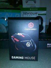 black and red gaming mouse box Lewisville, 75067