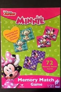Disney Junior Minnie Mouse Memory March Game