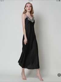 women's black sleeveless dress London, N6E 3R1