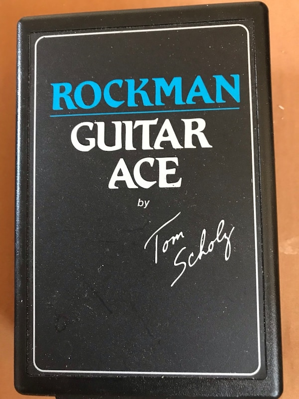 Rockman Guitar Ace Headphone Amp by Tom Scholz Super Dry Clean or Distorted  sound, use you own earbuds or headphones