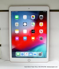 Apple IPad 6th Generation - 128GB - WIFI Only - Rose Gold (MRJP2LL/A) Margate