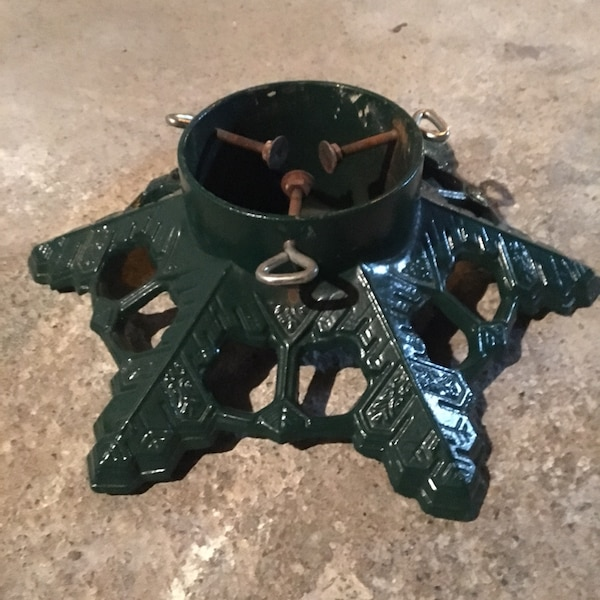 Used Cast Iron Christmas Tree Stand For Sale In Bethlehem Letgo