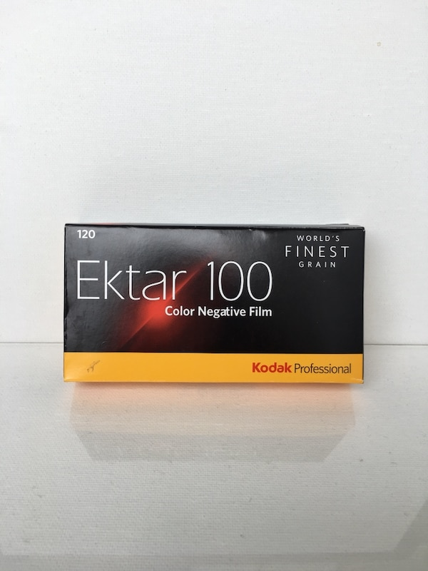 Ektar 100 film 120mm