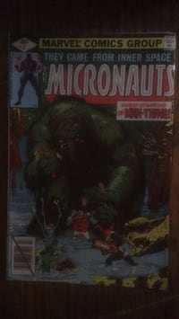 The Micronauts #7 Guest Starring The Man-Thing Baltimore, 21223